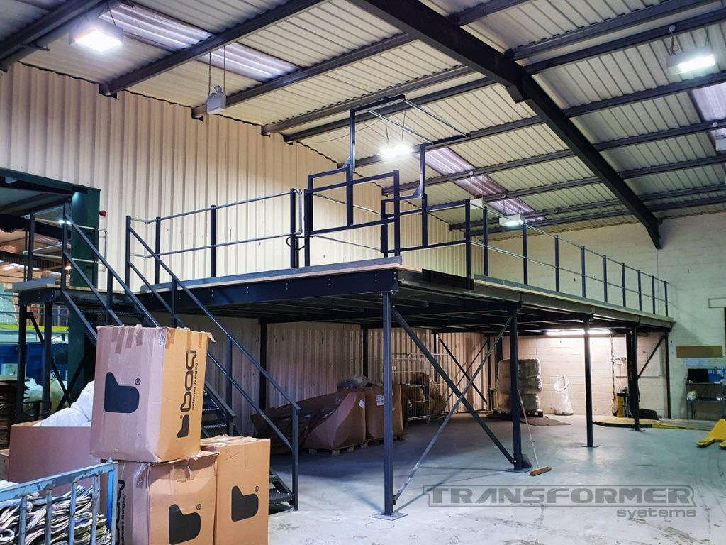 New Mezzanine Flooring Constructed for a Local Furniture Manufacturer
