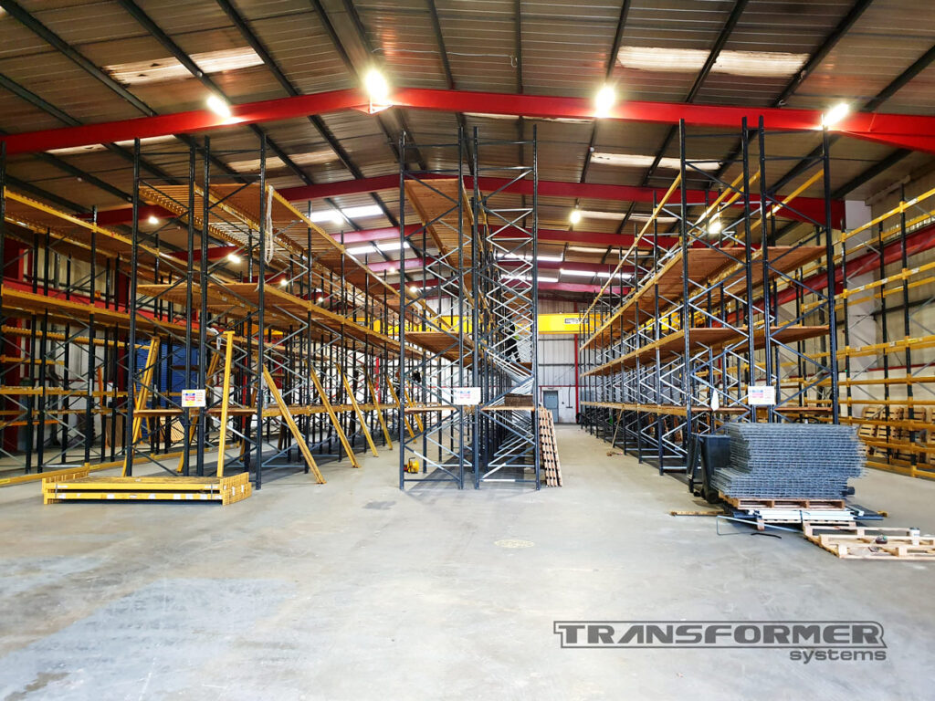 Pallet Racking Relocation for a Company Expanding Their Business.