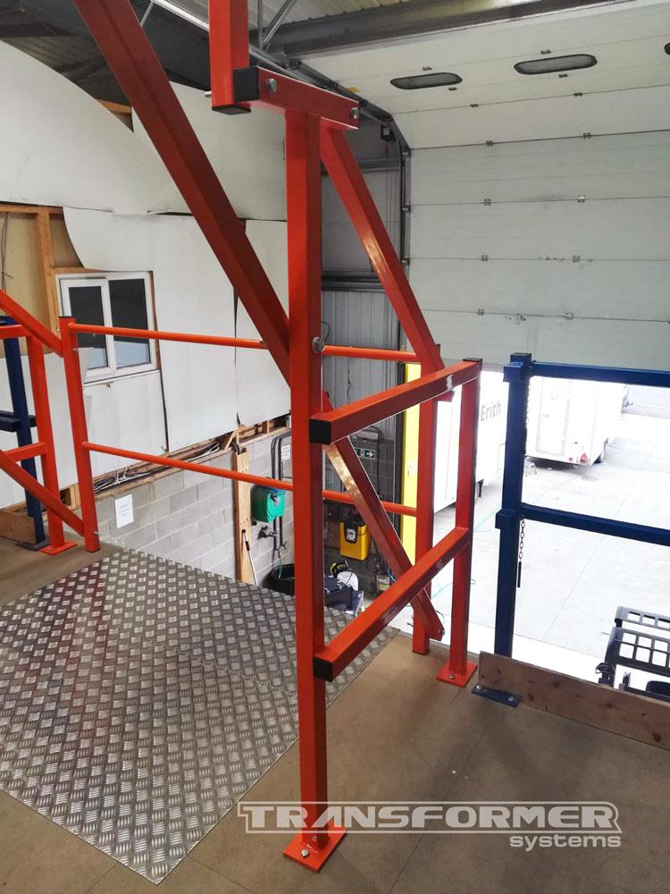High Pallet Gate Installation