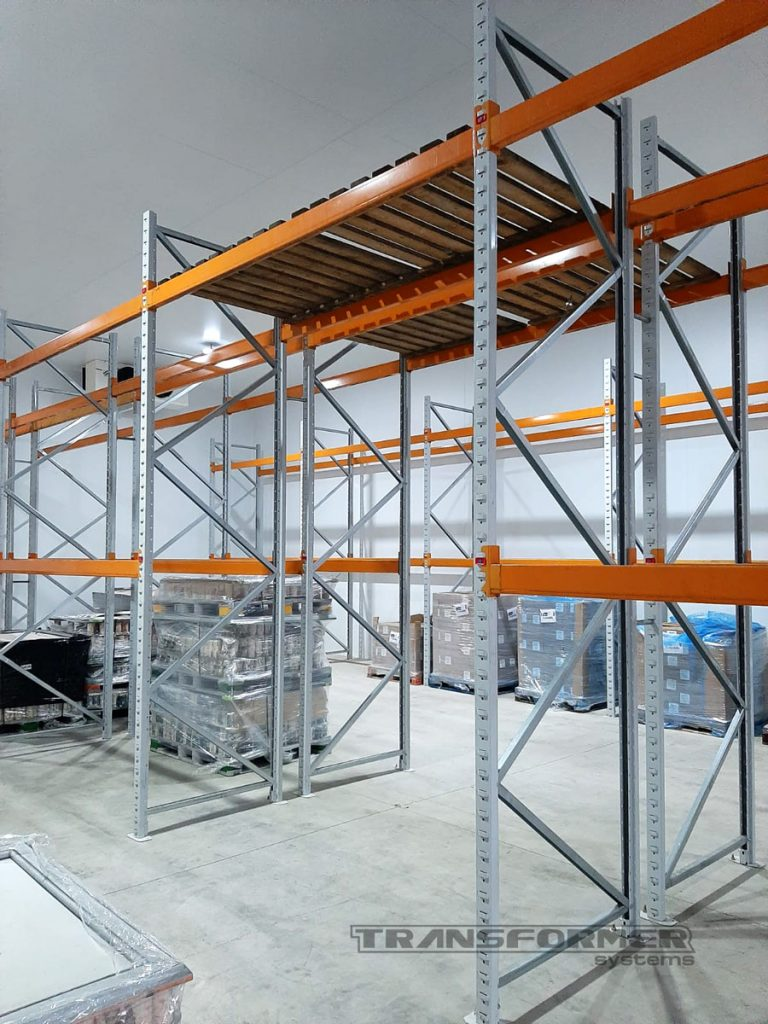 Apex Pallet Racking for a Local Brewery.