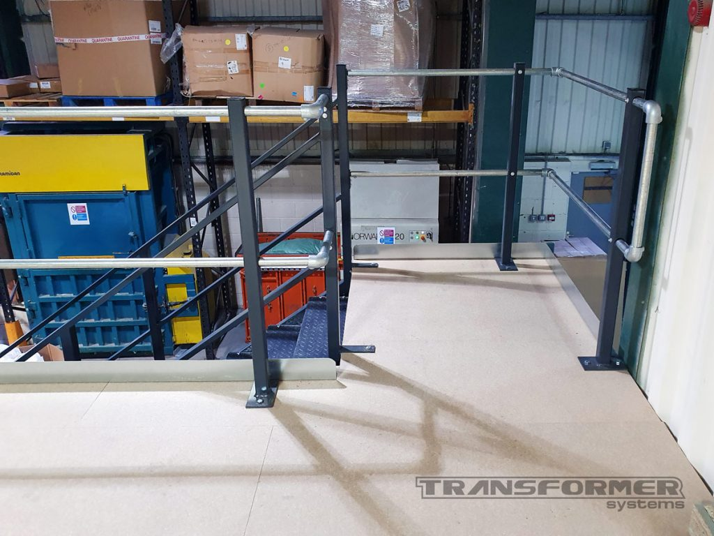 New Mezzanine Constructed for a Local Furniture Manufacturer
